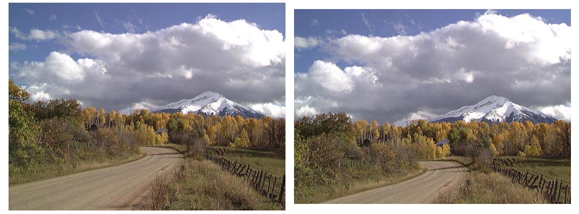 USA Colorado Near Crested Butte Photoshop editing exercise rotate crop tools